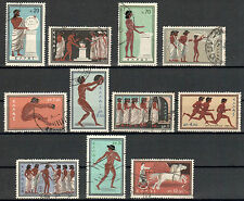 Greece Michel Number 734 - 744 Stamped