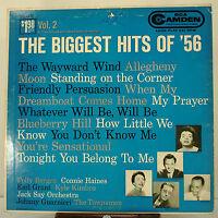 """12"""" 33 RPM MONO LP - RCA CAMDEN CAL-331 - THE BIGGEST HITS OF '56 Vol. 2 (1956)"""