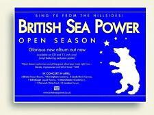 British Sea Power Open Season Poster