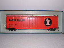 "KAR-LINE #343  Illinois Central ""Orange"" 50' Plug Door Box Car #11143"