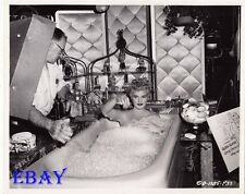 Judy Holliday in bathtub VINTAGE Photo It Should Happen To You