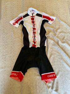 CASTELLI Cycling Short Sleeves Skinsuit BRAND NEW ORIGINAL SIZE M Unisex
