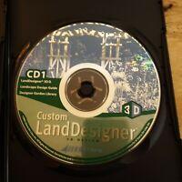 Sierra Home Land Designer 3D Design Software WIN 95/98 Free Shipping