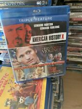 American History X/A History of Violence/True Romance (Blu-ray Disc, 2012) Oop