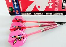 WINMAU PLAYBOY 80% TUNGSTEN DARTS with Nylon Shafts 23g gram Christmas Gift
