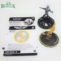 Heroclix Avengers: Black Panther & Illuminati set Black Bolt w/Reality #042 Rare