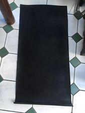 Black Ribbed Rubber Mat Matting  Tool Box Drawer Flooring Garage 92 cms X 44 cms
