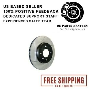 StopTech Right Slotted Brake Fits Front Side Sport Hyundai Genesis Coupe Rotor