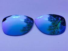 Grabado Polarizadas Azul Hielo Lentes Espejados reemplazo Oakley Jupiter