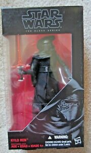 STAR WARS The Black Series Kylo Ren The Force Awakens Six Inch Action Figure