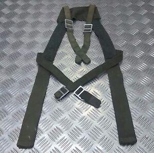 Genuine Vintage Military Issue Green Web Yoke / Suspender / Brace Harness HDRG2
