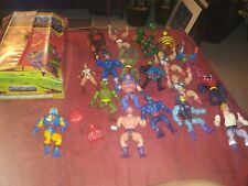 He Man Lot + Rare Masters Collector Case