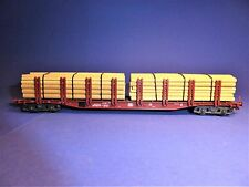 """TRIX int. H0 47144 ohne Box: Snps 719 Doppelrungenwagen """"472 3 268-7"""""""