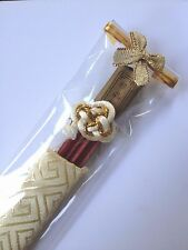 Chinese Natural Wood Chopsticks Handmade Chestnut Tableware,COVER PACKET