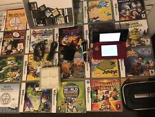 Nintendo 3DS Handheld System - Flame Red With Lots Of Games