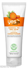 Yes To Carrots Organic Pampering CONDITIONER For Normal To Dry Hair 280ml