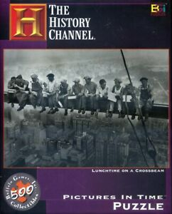 THE HISTORY CHANNEL - LUNCHTIME ON A CROSSBEAM - Pictures in Time Puzzle - NEW