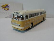 """Brekina 59553 - Ikarus 66 Stadtbus """"Tata"""" Baujahr 1954-73 in elfenbein-weiß 1:87"""