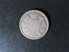 10 cents 1862 New Nouveau Brunswick Canada Queen Victoria c ¢ NB G-6
