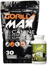 Bully Max/Gorilla Max Dog Muscle Supplement (Bully Max & Gorilla Max Combo)  NEW