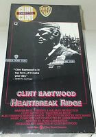 NEW Sealed Heartbreak Ridge 1990 VHS Clint Eastwood 11701 Adult Action USA