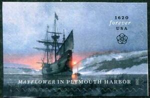 UNITED STATES 2020 MAYFLOWER SHIP ARRIVAL IN PLYMOUTH COMP. SET OF 1 STAMP MINT