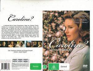 Caroline DVD Stephanie Zimbalist RARE MOVIE - Region 4 Aust