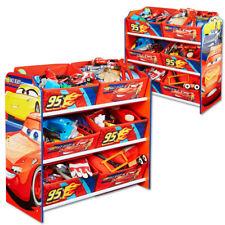 Disney Cars Kinderregal Regal Aufbewahrungsregal Kiste Kinder Kindermöbel Möbel