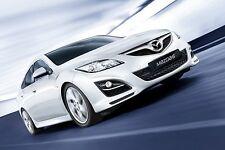 2011-2012 Mazda 6 Xenon Halogen Halo Angel Eye Fog Lamps Driving Lights Kit