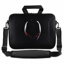 "17"" Cool Laptop Carrying Bag Case Pouch w/Shoulder Strap For Dell Alienware M17x"