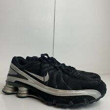 Nike Turbo VII Nike Shox Mens Black Lace Up Athletic Shoe Size 12      S26