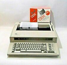 Ibm Personal Wheelwriter 1000 Electronic Typewriter 6781 024 Withextras Near Mint