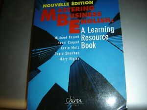 MASTERING BUSINESS ENGLISH RESOURCE BOOK