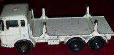 Vintage 1960s Matchbox Series no 58 White Girder Truck good shape