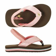 Cobian WAHINE Girls Toddler Synthetic Strap Flip-Flop Sandals 5/6 Pink NEW