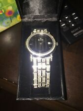 Bulova Men's 96B011 Watch Beautiful New Condition Swarovski