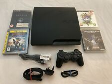 Sony PlayStation 3 160gb Slim  / Tested Working / Good Condition