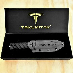"9.75"" Tactical Gear D2 Blade G10 Handles Molle Kydex Sheath Fixed Blade Knife"