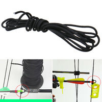2.5mm x 2m Release Archery Compound Bow String Nock D Loop Rope Cord Bowstring