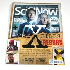 Sci-Fi Now UK Magazine ISSUE 115  THE X-FILES  GILLIAN ANDERSON DAVID DUCHOVNY