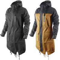 Nike Sportswear NSW Field Zizo Womens Hooded Cotton Parka Long Jacket 394118 R6C