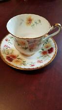 Paragon Autumn Glory Tea Cup and Saucer, Bone China, England, Teacup