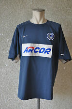 Hertha BSC Berlin Trikot Gr. XXL Nike 2000 / 04 Arcor Training grau