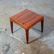 Mid Century Modern Side Table Set End Walnut Scandia Carlin Square Cube Vintage