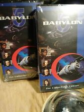 New Lot Of 2 Babylon 5 In Clamshell 1997 The Collector' S Edition Factory Sealed
