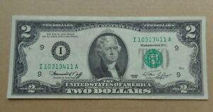 USA banknote $2 two dollars 1976 Banknote green seal
