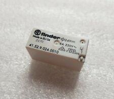 Relais FINDER 41.52.9.024.0010 2RT 24V DC / 250VAC 8A