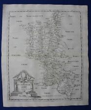 BUCKINGHAMSHIRE original antique map from CAMDEN'S BRITANNIA, Robert Morden 1722