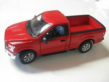 1:24 SCALE WELLY 2015 FORD F-150 REGULAR CAB DIECAST TRUCK W/O BOX