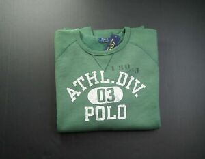 POLO RALPH LAUREN Men's Big & Tall Washed Forest Graphic Fleece Sweatshirt NWT